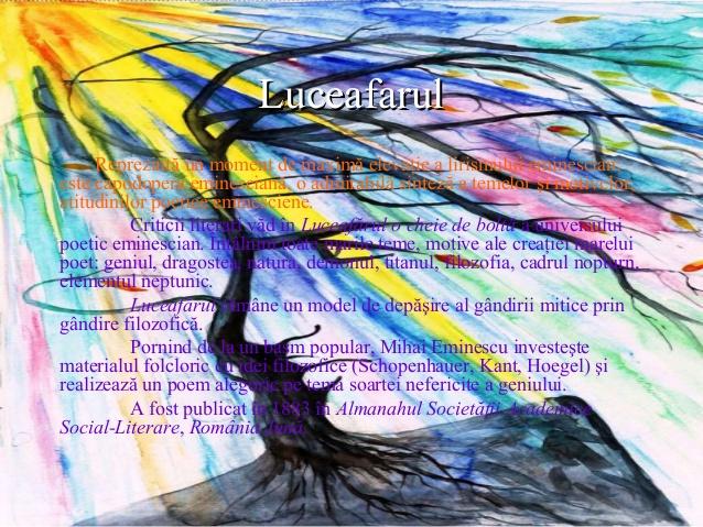 Luceafărul - structură și semnificații