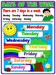 The Days of the Week – II