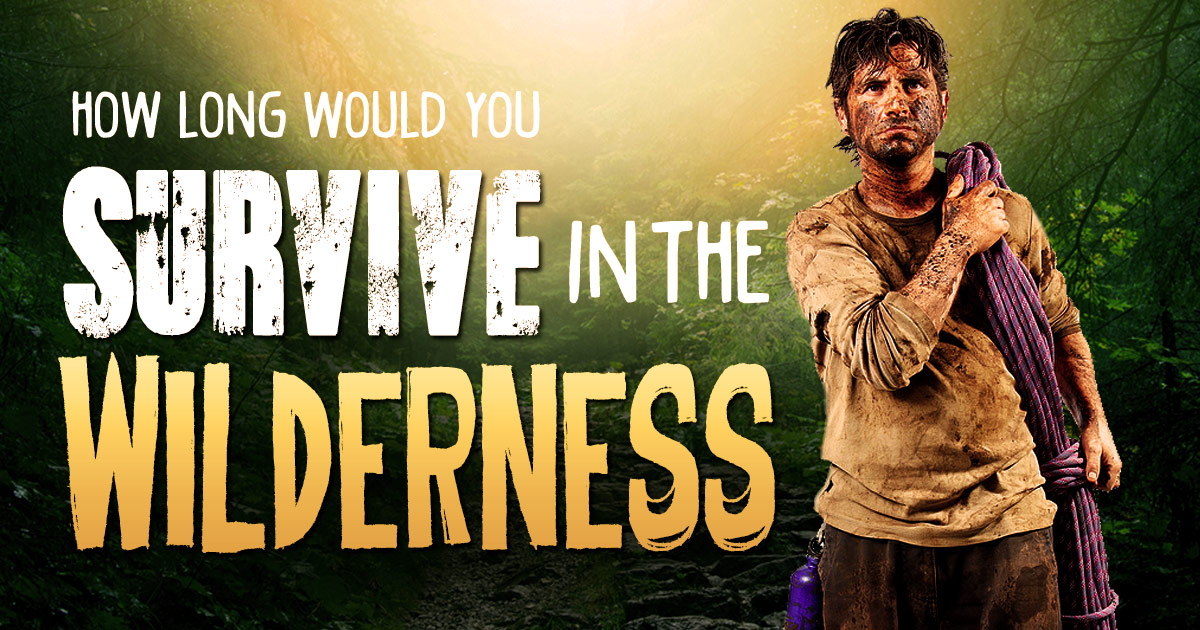 What would you do? Do you have what it takes to survive? Part I