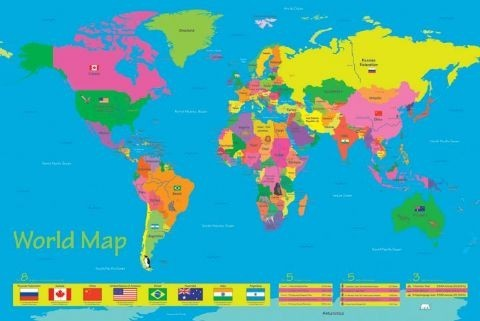 Largest countries in the world